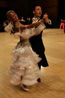 Alessio Potenziani & Veronika Vlasova at UK Open 2008