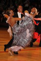 Sergey Kravchenko & Lauren Oakley at International Championships 2011