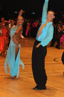 Kai Widdrington & Natasha Jeved at The International Championships