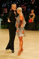 Peter Stokkebroe & Kristina Stokkebroe at UK Open 2008