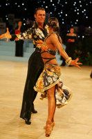 Dmytro Vlokh & Olga Urumova at UK Open 2008
