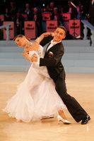 Benedetto Ferruggia & Claudia Köhler at UK Open 2008