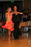 Ivan Bocharov & Josefina Ortova at Hungarian Open 2008