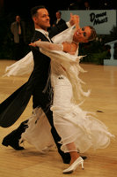 Simone Segatori & Annette Sudol at UK Open 2008
