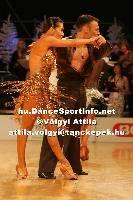 Eugene Katsevman & Maria Manusova at Lithuanian Open 2007