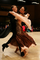 Marek Kosaty & Paulina Glazik at UK Open 2008