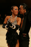 Alex Wei Wang & Roxie Jin Chen at UK Open 2008
