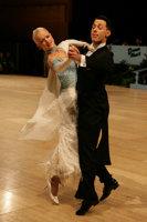 Oscar Pedrinelli & Kamila Brozovska at UK Open 2008