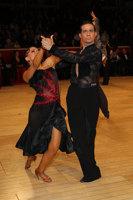 Andrea Silvestri & Martina Váradi at The International Championships
