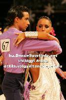 Andrea Silvestri & Martina Váradi at Lithuanian Open 2007