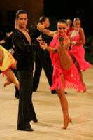 Andrea Silvestri & Martina Váradi at UK Open 2008