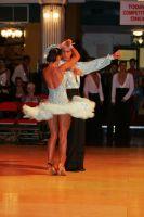 Andrea Silvestri & Martina Váradi at Blackpool Dance Festival 2008