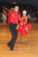 David Byrnes & Karla Gerbes at The International Championships