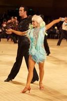 David Byrnes & Karla Gerbes at UK Open 2009