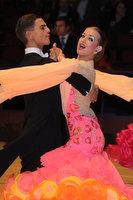 Miles Chapman & Lorna Arnold at The International Championships