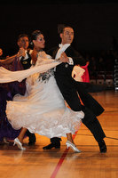 Michael Glikman & Milana Deitch at International Championships 2011