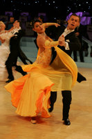 Luca Rossignoli & Veronika Haller at UK Open 2008