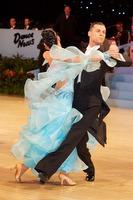 Luca Rossignoli & Veronika Haller at UK Open 2009