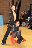 Manuel Frighetto & Karin Rooba at UK Open 2009