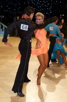 Joshua Keefe & Sara Magnanelli at UK Open 2009