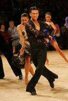 Danny Stowell & Kate Moore at UK Open 2008