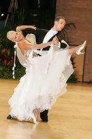 Arunas Bizokas & Katusha Demidova at UK Open 2010