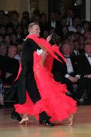 Christopher Short & Elisa Chanaa at Blackpool Dance Festival 2009