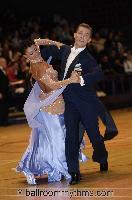 Domen Krapez & Monica Nigro at The International Championships
