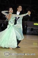 Isaia Berardi & Cinzia Birarelli at The International Championships