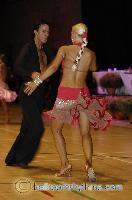 Andrew Cuerden & Hanna Haarala at The International Championships