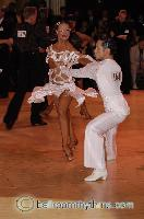 Pasha Pashkov & Inna Brayer at Blackpool Dance Festival 2006