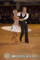 Peter Stokkebroe & Kristina Stokkebroe at Blackpool Dance Festival 2006