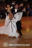 Andrea Ghigiarelli & Sara Andracchio at Blackpool Dance Festival 2006