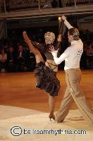Cedric Meyer & Angelique Meyer at Blackpool Dance Festival 2006