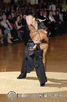 Eugene Katsevman & Maria Manusova at Blackpool Dance Festival 2006