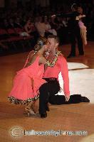 Alex Wei Wang & Roxie Jin Chen at Blackpool Dance Festival 2006