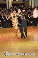 Sergey Sourkov & Agnieszka Melnicka at Blackpool Dance Festival 2006