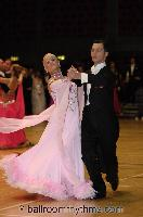 Oscar Pedrinelli & Kamila Brozovska at The International Championships