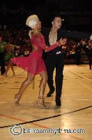 Dorin Frecautanu & Roselina Doneva at The International Championships