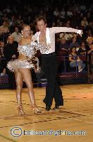 James Jordan & Aleksandra Jordan at The International Championships