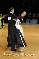 Mark Elsbury & Olga Elsbury at UK Open 2007