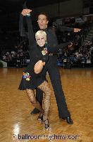 David Byrnes & Karla Gerbes at FATD National Capital Dancesport Championships 2006