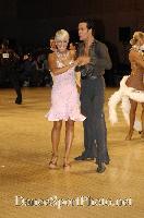 David Byrnes & Karla Gerbes at UK Open 2007