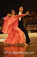 Michael Glikman & Milana Deitch at Australian Dancesport Championship 2006