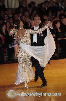 Grant Barratt-thompson & Mary Paterson at Blackpool Dance Festival 2006