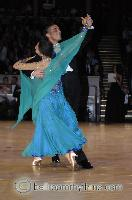 Grant Barratt-thompson & Mary Paterson at The International Championships