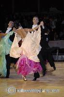 Sergei Konovaltsev & Olga Konovaltseva at The International Championships