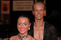 Nerijus Jasaitis & Rolanda Maniuskaite at Zabrze 2008