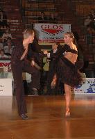 Szymon Bozek & Michaela Riedlova at Zabrze 2008