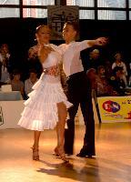 Yevgen Kashkovskyy & Anna Matus at Zabrze 2008